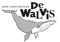 Logo Lunchroom 'De Walvis'