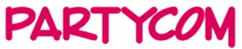 Logo PartyCom Kledingverhuur